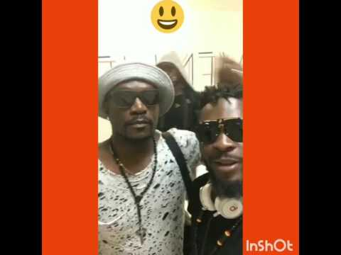 Arafat DJ et Meiway. Abidjan News 2017.