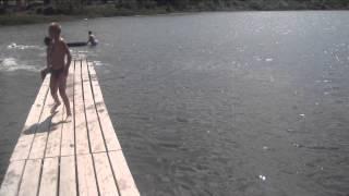 Грязевое озеро Голубицкой июнь 2014(Видео снято 2 июня 2014 года. На видео Грязевое Озеро Голубицкой. станица Голубицкая Темрюкского района,..., 2014-06-03T16:50:20.000Z)
