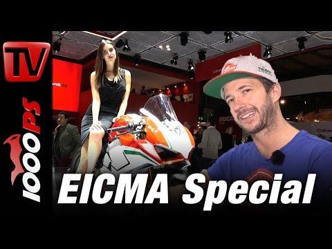 EICMA 2017 - Der Rundgang - Alle Motorrad Neuheiten 2018 und Girls