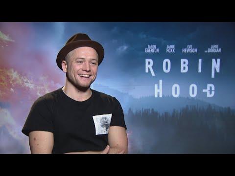 ROBIN HOOD: Taron Egerton's Love Triangle With Jamie Dornan