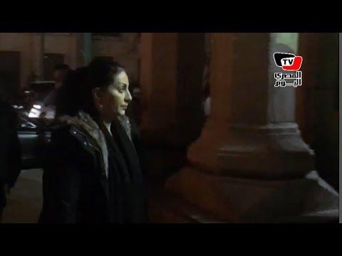 المصري اليوم:وفاء عامر وريم البارودي يؤديان واجب العزاء في شقيقة طلعت زكريا