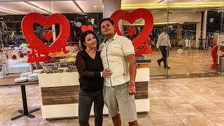 Египет 2021 Ужин ко дню влюблённых 14 февраля в отеле Dana Beach Вечерняя встреча