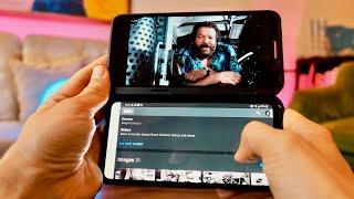 DUPLA kijelzős mobillal HASÍTOTTAM az 5G-N! LG V50 ThinQ