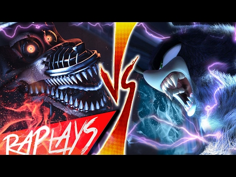 SONIC WEREHOG VS NIGHTMARE FOXY | EVIL RAP BATTLE | KRONNO & CYCLO | ( Videoclip Oficial )
