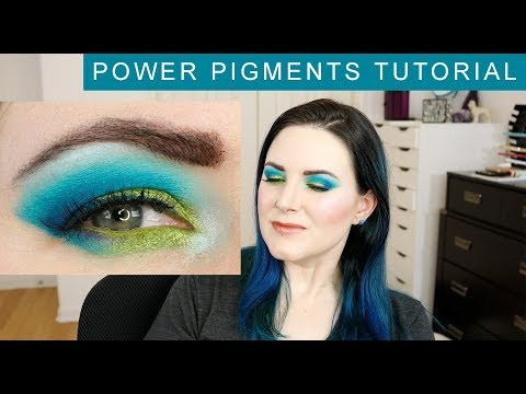 Makeup Geek Power Pigments Tutorial (full face)