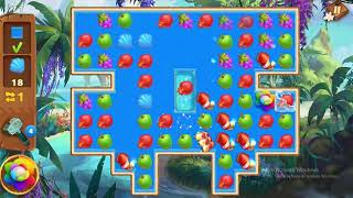 Tropical Forest Match 3 Story Level 71