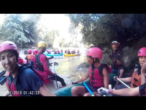 White Water rafting in Sg Kampar