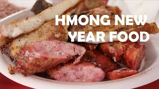 Hmong New Year Food
