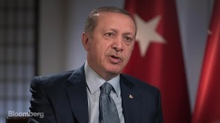 Turkey's President Blasts U.S. for Harboring Cleric, Support for Kurds