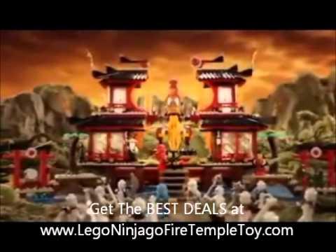 Lego Ninjago Fire Temple - Hot Christmas Toy 2011