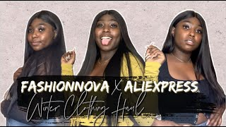 FASHIONNOVA X ALIEXPRESS TRY-ON HAUL | Baddie Onna Budget, Black Friday Shopping, Etc.
