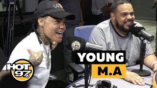 Young M.A Talks Being Independent + New Music + More !