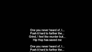 Lupe Fiasco - Hip Hop Saved My Life [Lyrics on Screen]