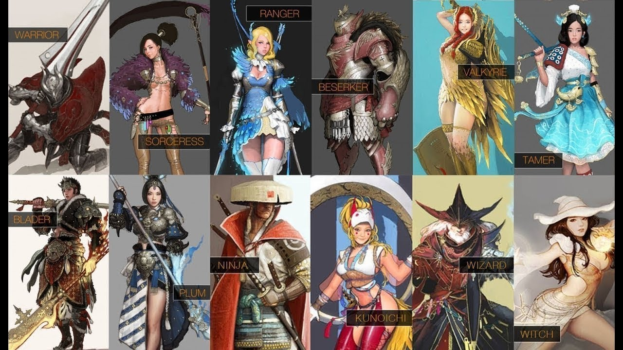 Black Desert Valkyrie Fashion