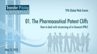 Pharmaceutical Mini-academy - 01. The Pharmaceutical Patent Cliffs