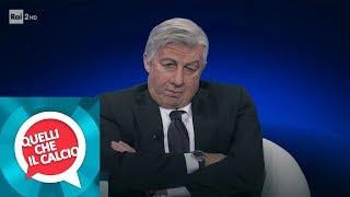Carlo Ancelotti (Ubaldo Pantani) in collegamento - Quelli che il calcio 27/01/2019
