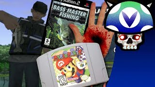 "[Vinesauce] Joel - ""Boring"" PS2 Fishing Games: Bass Master Fishing"