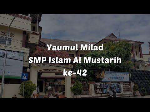 Selamat Ulang Tahun SMP Islam Al Mustarih Yang Ke-42