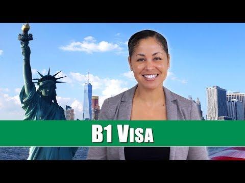 Tips For US Visa - Applying For A B-1 Visitor Visa To USA (2019)