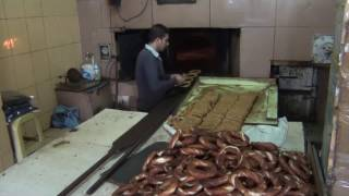 How Simits (round Sesame Breads) Are Made In Istanbul