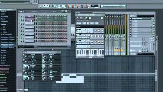 david guetta whos that chick afrojack remix FL studio 9 tutorial