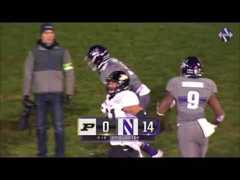 Football - Purdue Game Highlights (11/11/17)