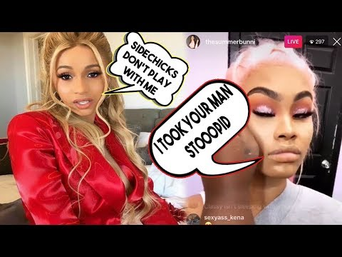 Cardi Goes Off on Offset Side Chick the Side chick claps bac