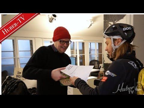 HUBER-TV goes REAL COCONUT WATER! - Zu Gast bei Ron Orp Zürich