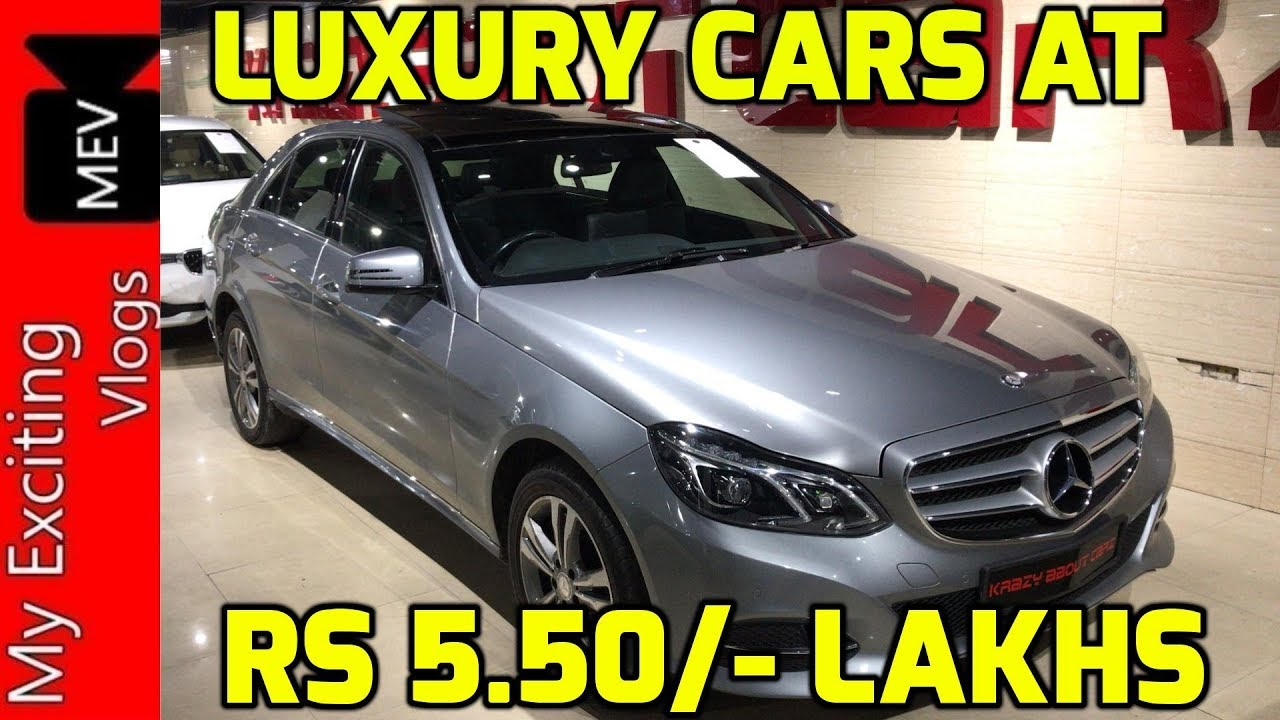 Luxury Cars Starting From Rs 5 50 Lakhs Bmw Mercedes Benz Audi