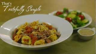 Sausage And Tortellini Pasta