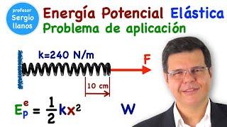 Energía potencial elástica 2:2 Aplicación - Spring potencial energy