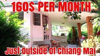 Cheap Rent House Tour Chiang Mai Thailand Under $200 / Month