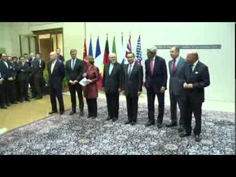 Iran Talks: Press Statement following Agreement - Catherine Ashton
