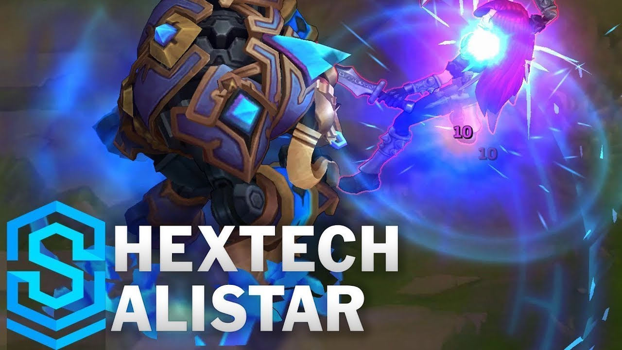 Hextech Alistar Skin Spotlight - Pre-Release - League of Legends