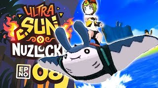 Pokémon Ultra Sun & Moon Nuzlocke! PART 8 - MANTINE SURF = BEST MINIGAME