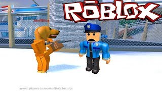 MY DOG STOLE THE JEWELRY ON THE JAILBREAK!! ~ ROBLOX ~
