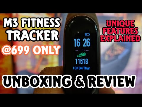M3 Fitness Band Product Review Priced At Rs 699. Best Fitness Band Under Rs 1000