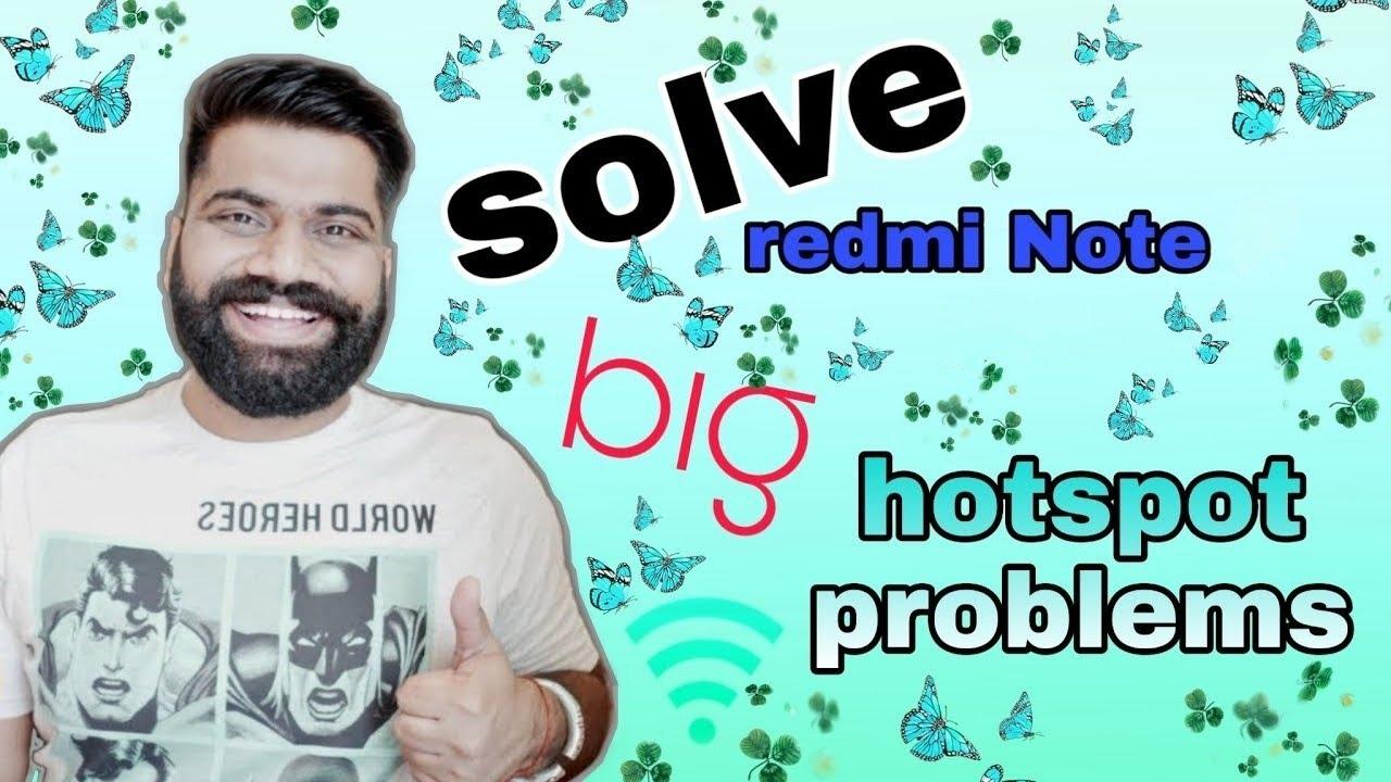 Solve Redmi note 5 Pro hotspot problem (data sharing) 🔥🔥MIUI 10  #fixhosportproblem