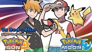 Repeat youtube video Pokemon Sun & Moon: Legend Red & Blue Battle Music [Official Soundtrack]