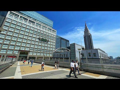 Live Tokyo Walk - Shibuya 🚶 Harajuku 🚶 Shinjuku 🏙️ 渋谷から新宿散歩