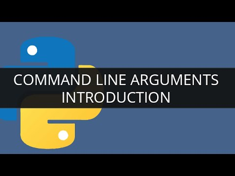 Command Line Arguments in Python