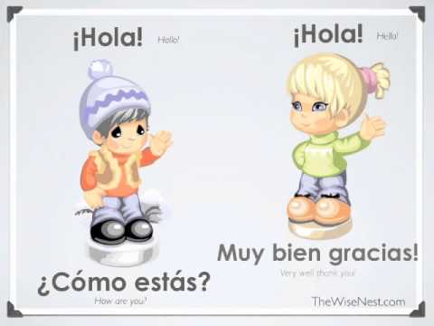 spanish for kids basic conversation questions amp phrases