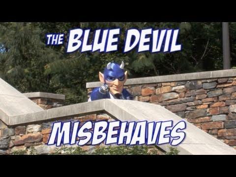 The Blue Devil Misbehaves
