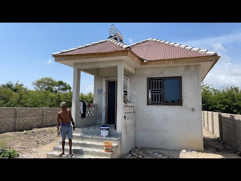 AfroAmerican builds home in Elmina Ghana