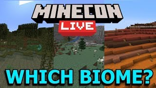Minecon 2019 Biome Vote: Which Biome Needs Updating?