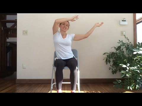 Fun and Playful - Viki Boyko leads this 30-min Chair Yoga Seated class