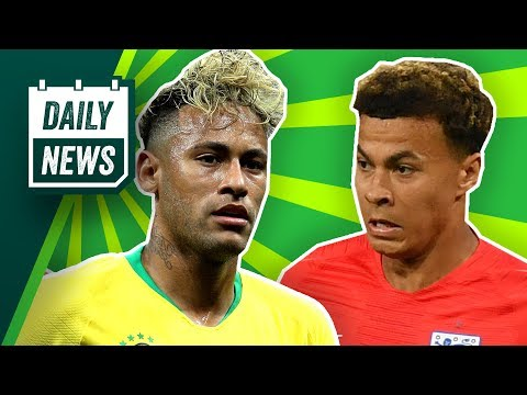 TRANSFERS AND WORLD CUP NEWS: Neymar and Dele Alli injury update + Bernd Leno to Arsenal