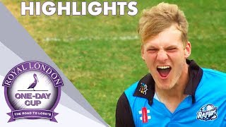 Semi-Final Goes Down To Final Over | Kent v Worcs: Royal London One-Day Cup 2018 - Highlights