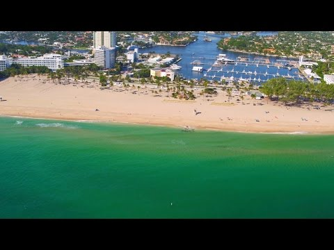 Florida Travel: Fly Above Fort Lauderdale Beach