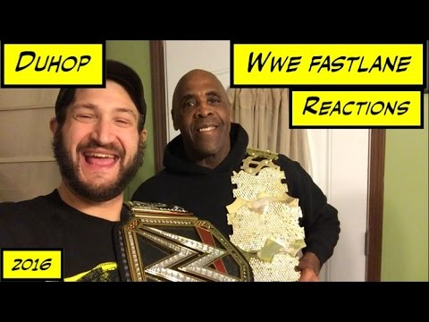 Duhop WWE FASTLANE PPV REACTIONS & WWE SUPERSTAR VIRGIL Vlog